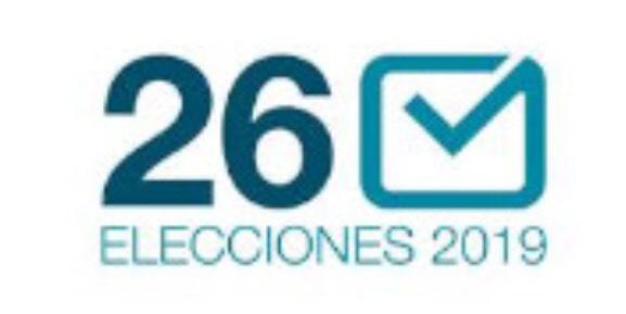 ELECCIONES MUNICIPALES 26 MAYO 2019